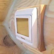 Квадрат. Накладка для распределительных коробок и светильников.